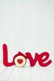 Amour de petit gâteau Images stock