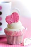 Amour de petit gâteau Photos libres de droits