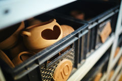 Amour de poterie Photographie stock