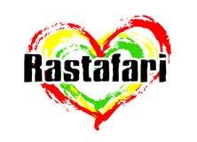 Amour de Rastafari Image libre de droits