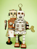 Amour de robot Photographie stock