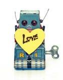 Amour de robot Photos libres de droits
