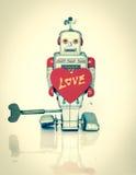 Amour de robot Image stock