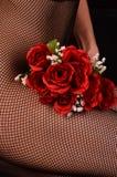 Amour de Rose rouge Photos libres de droits