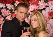 Amour de roseraie Image stock