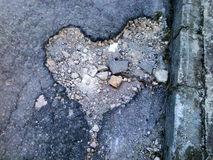 Amour de rue Photo libre de droits
