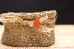 Amour de sac Photo stock