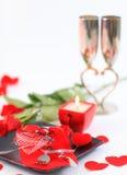 Amour de Saint-Valentin Images stock