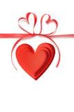 Amour de Saint Valentin beau Photographie stock