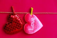 Amour de signe de coeur Images stock