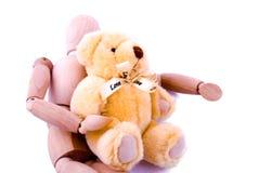 amour de simulacre d'ours Photographie stock libre de droits