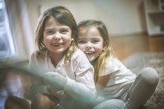 Amour de soeur Image libre de droits