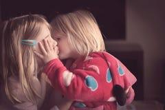 Amour de soeur Photos libres de droits