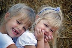 Amour de soeur Photo stock