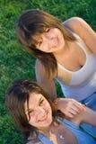 Amour de soeur Photos stock