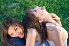 Amour de soeur Image stock