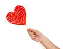 Amour de sucrerie Photos libres de droits