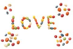 Amour de sucrerie Images libres de droits