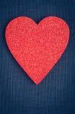 Amour de symbole de coeur Photographie stock libre de droits