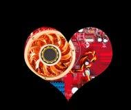 Amour de Technik Image libre de droits