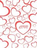 Amour de Valentine Heart pour des couples Photographie stock