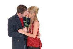 Amour de Valentine, jeunes adultes Photographie stock