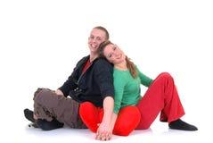 Amour de Valentine, jeunes adultes Photographie stock libre de droits