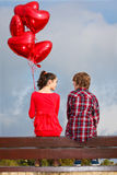 Amour de Valentines Images stock