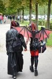 Amour de vampire Image libre de droits