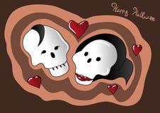 Amour de Veille de la toussaint Image stock