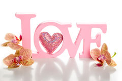Amour de Word images stock