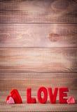 Amour de Word Image stock