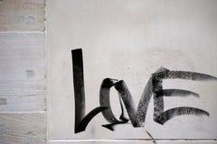 Amour de Word Image libre de droits