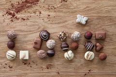 Amour de Word des sucreries Image libre de droits
