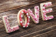 Amour des biscuits Photos libres de droits