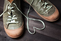 Amour des chaussures Photographie stock libre de droits