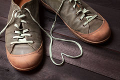 Amour des chaussures Image stock