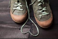 Amour des chaussures Photos libres de droits