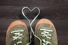 Amour des chaussures Photo stock