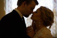 Amour des couples de mariage Photographie stock libre de droits