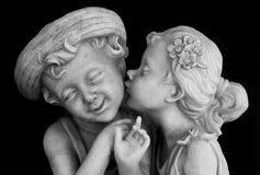 Amour des enfants Photographie stock