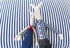 Amour des lapins Photos libres de droits