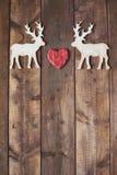 Amour des rennes Photographie stock libre de droits