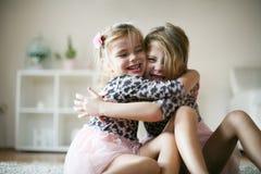 Amour des soeurs Image stock