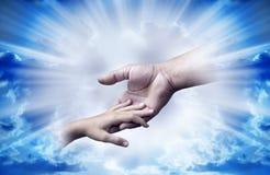 Amour divin Images libres de droits