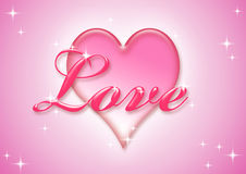 Amour doux Photographie stock