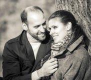 Amour doux et heureux Image libre de droits