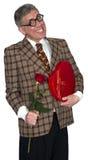 Amour drôle, Romance, datant, Valentine Isolated Photos stock