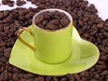 Amour du café 4 Image libre de droits