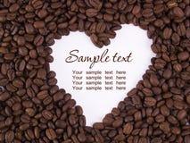 Amour du café 5 Images libres de droits